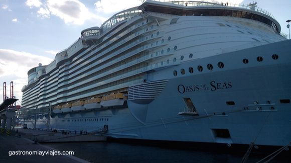 The Oasis of the Seas Cruise revisits Málaga